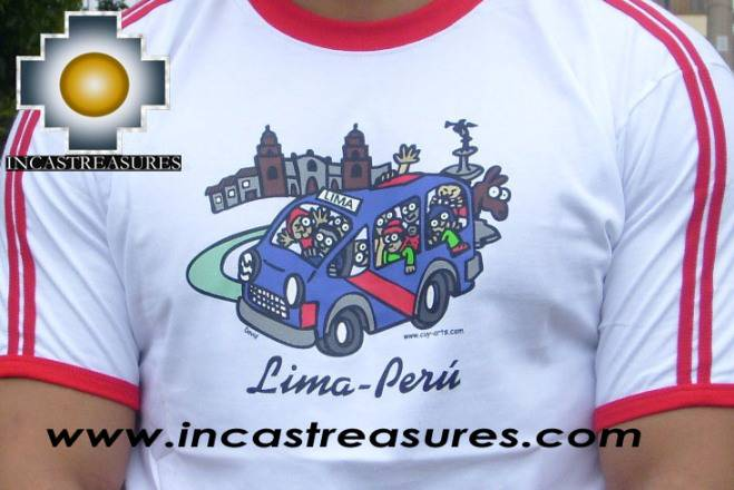 Cotton Tshirt Lima Peru