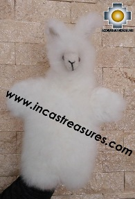 Alpaca Puppet little llama cusi - 100% Baby Alpaca - Product id: PUPPET16-02 Photo04