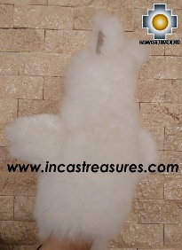 Alpaca Puppet little llama cusi - 100% Baby Alpaca - Product id: PUPPET16-02 Photo02