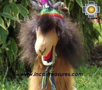 Alpaca Stuffed animal Julieta llama - 100% Baby Alpaca - Product id: TOYS13-02 Photo04