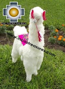 Alpaca Stuffed Llama Pillar The Giant - Product id: TOYS13-04 Photo05