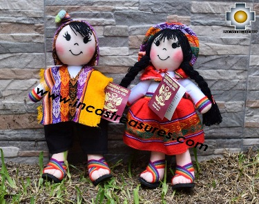 Andean Doll couple- Product id: GAMES16-01, photo 01