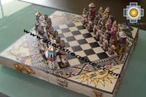Big wooden royal Chess Set - 100% handmade - Product id: toys08-65chess, photo 02