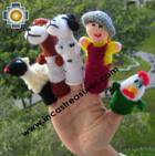 Hand-Knit finger puppet  farm Special- Product id: TOYS08-44, photo 03