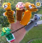 Hand-Knit finger puppet  wild-animals Special- Product id: TOYS08-45, photo 03