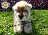 Beautiful alpaca stuffed animal cheetah-cub - Product id: TOYS08-50 Photo03