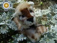 Beautiful alpaca stuffed animal Cheetah - Product id: TOYS08-49 Photo02