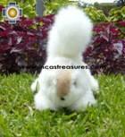 Alpaca Stuffed Animal Squirrel Nuez - Product id: TOYS08-57 Photo06