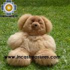 Baby Alpaca Big and Soft Brown Teddy Bear - BROWNIE , photo 02