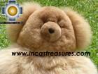 Baby Alpaca Big and Soft Brown Teddy Bear - BROWNIE , photo 03