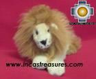 Baby Alpaca Beige King Lion - George , photo 05