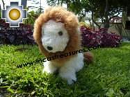 Alpaca stuffed animal Buba The Lion - Product id: TOYS08-55 Photo04
