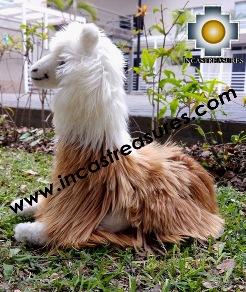 alpaca stuffed animal peluca , photo 03