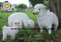 Alpaca Stuffed Animals Sheep Family - Product id: TOYS08-39 Photo11