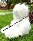 Big SURI Teddy Bear YOYO - 100% SURI Baby Alpaca - Product id:TOYS08-68, photo 02