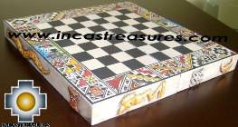 Big wooden classic Chess Set - 100% handmade - Product id: toys08-66chess, photo 09