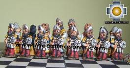 Big wooden classic Chess Set - 100% handmade - Product id: toys08-66chess, photo 06
