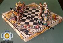 Big wooden royal Chess Set - 100% handmade - Product id: toys08-67chess, photo 05