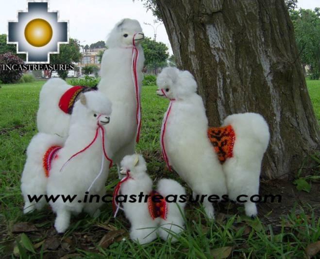 Alpaca Stuffed Animals llama Family - Product id: TOYS08-40