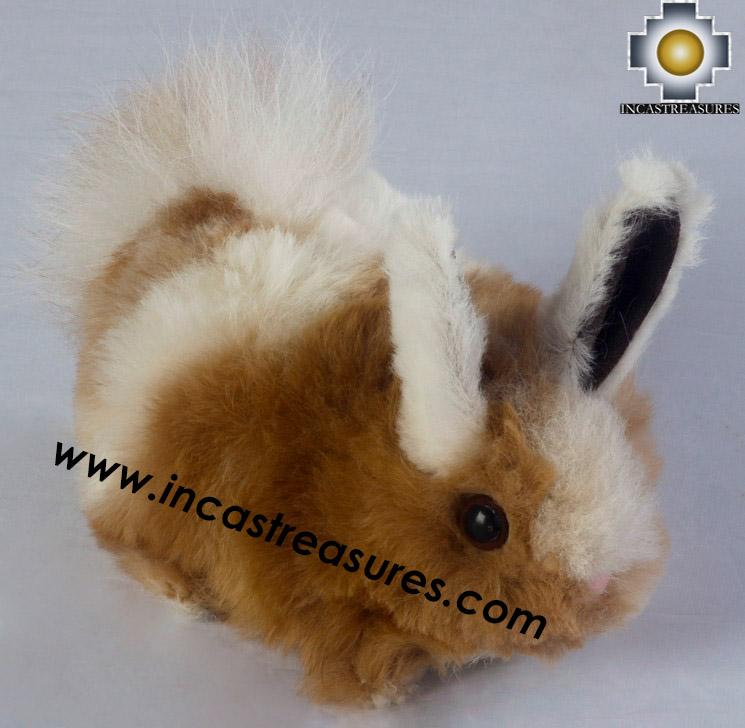 Alpaca Stuffed micro rabito - 100% Baby Alpaca