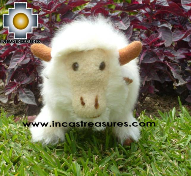 Buffalo Cuernitos Alpaca Stuffed Animals Free Shipping Worldwide