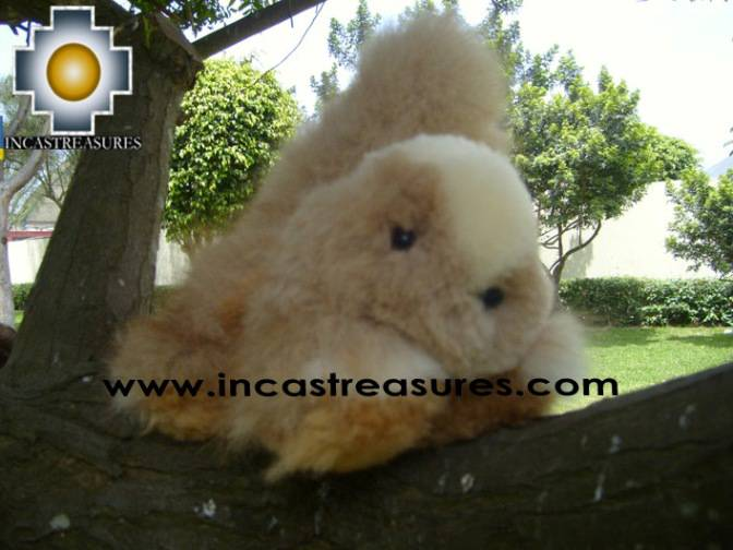 Alpaca Stuffed Animal Squirrel Nuez - Product id: TOYS08-57 Photo02