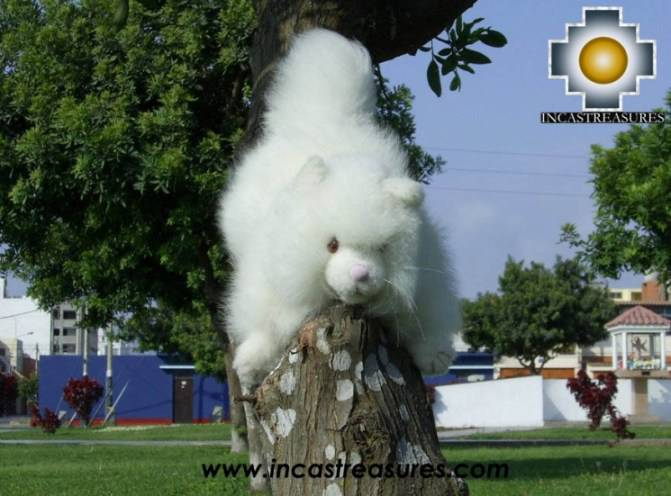 Cute Little White cat - PASCO - Product id: TOYS08-24 Photo01