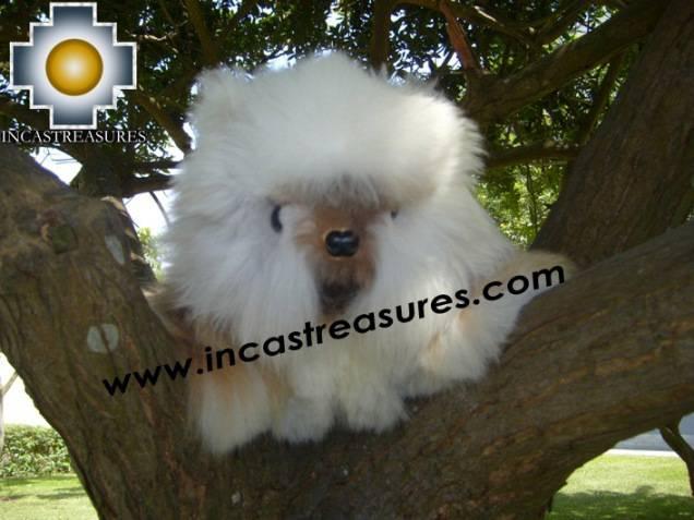Adorable White Big cat - Stuart THE CAT - Product id: TOYS08-23