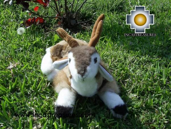 "baby alpaca stuffed animal Lovely Beige Deer ""PONG"""