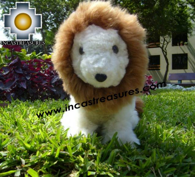 Alpaca stuffed animal Buba The Lion - Product id: TOYS08-55