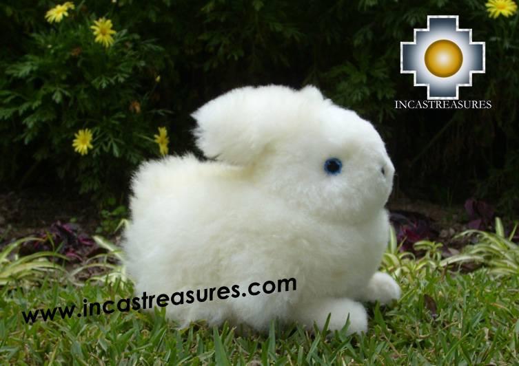 Baby Alpaca Adorable White Big Cat Rabbit The Llama Alpaca Stuffed