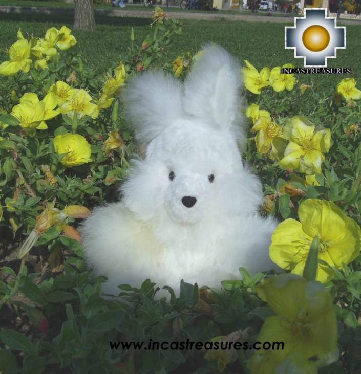 Cute White Rabbit - SPOUNGE - Product id: TOYS08-22 Photo01