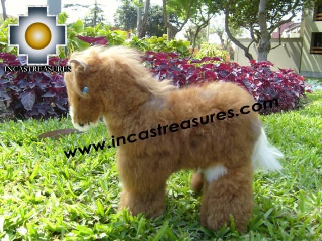 "Baby Alpaca Horse ""MISTER HORSE"""