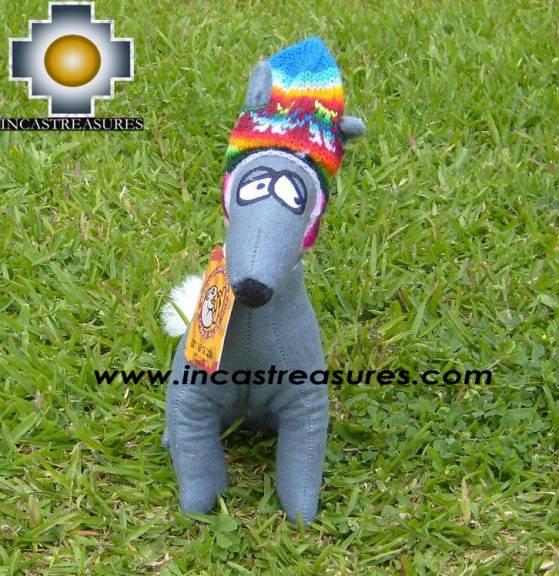 Stuffed Animal Peruvian Dog CuyArts