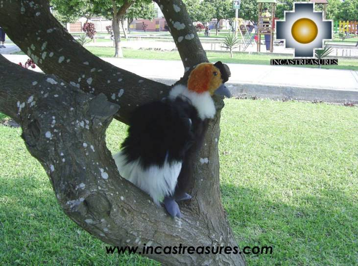 alpaca stuffed animal, andean condor Plumitas