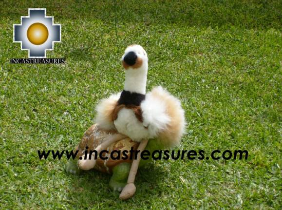 Cute and elegant Ostrich PUQUI